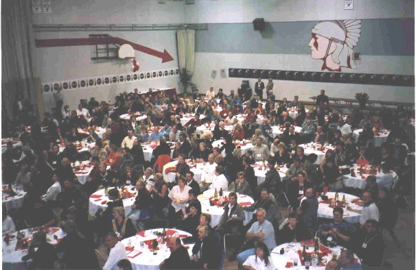 THS-RDPC 40th Reunion Banquet Saturday Oct 12, 2002 - Photo Courtesy of Carolyn Allen