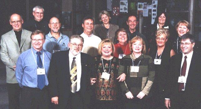 Back row - Hugh, Maria, Susan, Mid - Wolfgang, Lorne, Fred, Pauline, Greg, Pat F, Eunice Front- Colin, Terry, Vi, Pat C, Richard