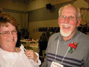 Barb K and Henry Klippenstein - Courtesy Darrel Levesque