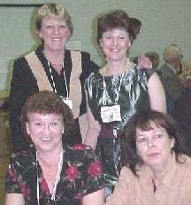 Susan and Gail Harrison, Linda Biglow, Nancy Allen - Courtesy Linda Biglow